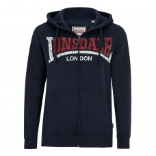 Mikina Lonsdale - Knowstone navy / red