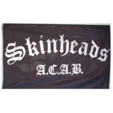 Vlajka Skinheads - ACAB