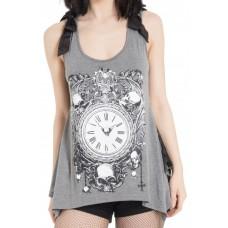 tričko Girly / minišaty / Top Steampunk Uhr Jawbreaker  GREY