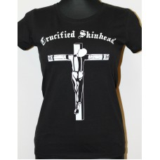 tričko Crucified Skinhead girlie