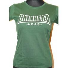 tričko Skinhead    Green