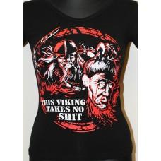 tričko Vikings Takes no Shit