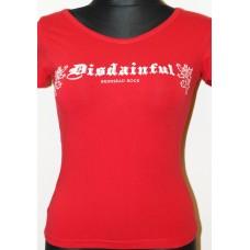 Tričko Disdainful Red  ladies
