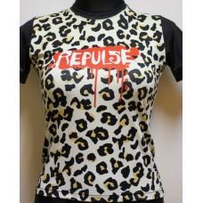 T-shirt Repulse Girly  Leopard
