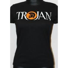 tričko Trojan UK  black ladies