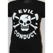 tričko Evil Conduct girly