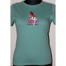 T-shirt Repulse Girly  Green  Devil