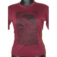 T-shirt  Repulse Girly Cherry red