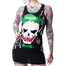 tričko Girly / minišaty Joker Skull
