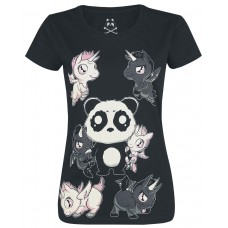 tričko Girly Killer Unicorn Tshirt Killer Panda