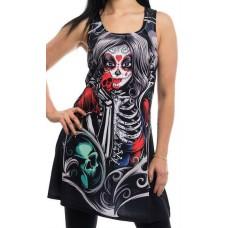 tričko Girly / minišaty   Muerte Snow Dress Vixxsin