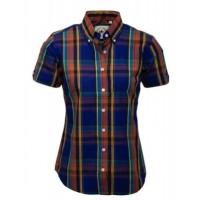 Relco London shirt  Blue Orange Ladies