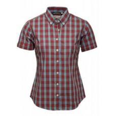 Relco London shirt  Blue Red Ladies