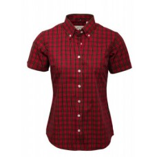 Relco London shirt  Red Tartan Ladies