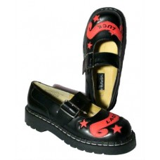 shoes Anarchic - black / red
