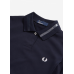 Polo Shirt Fred Perry Womens  Overlay Navy
