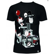 Horror Cats  T-Shirt  Girly  Cupcake Cult
