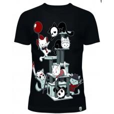 Horror Cats  T-Shirt  Girly  Cupcake Cult