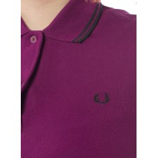 Polo Shirt Fred Perry Womens Bright Bramble