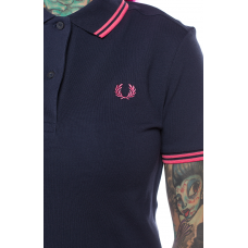 Polo Shirt Fred Perry Womens  Deep Carbon