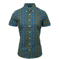 Relco London shirt  Petrol Blue Ladies