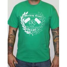 t-shirt  working class green