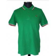 Polo Shirt  Warrior Clothing - Soul 45 Polo Keep the Faith Emerald