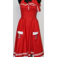šaty Motley 50´s Dress - Hellbunny Vixen