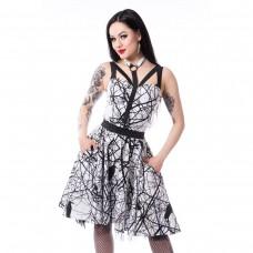 šaty Vixxsin Crow Dress