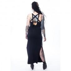 Šaty  Maxi Dress Pentagramm Heartless