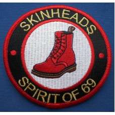 P135 - SKINHEADS 1969 BOOT PATCH