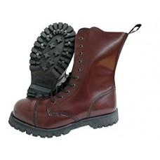 Boty Boots & Braces CHERRY 10 dírek