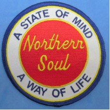 P178 - NORTHERN SOUL A WAY OF LIFE PATCH