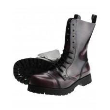 Boty Boots & Braces LILA 10 dírek