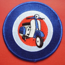 P155 - TARGET WITH SCOOTER PATCH