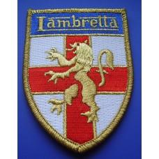 P2 - LAMBRETTA SCOOTER PATCH