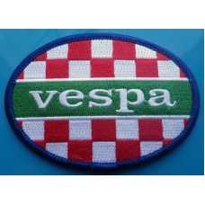 P256 - VESPA ITALIA OVAL PATCH
