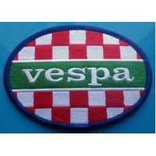 P256 - VESPA ITALIA OVAL PATCH