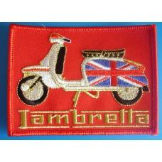 P47 - LAMBRETTA SCOOTER PATCH