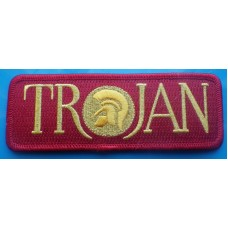 P86 - TROJAN RED BAR PATCH
