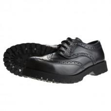 Boty Boots & Braces Budapester Black
