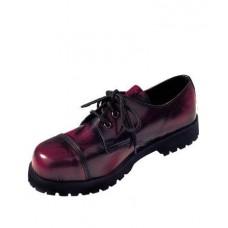 Boty Boots & Braces Burgundy 3 dírky