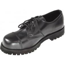 Boty Boots & Braces Black 3 dírky