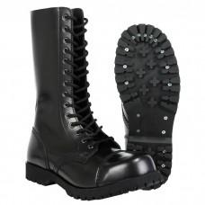 Boty Boots & Braces black 14 dírek