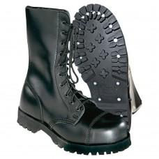 Boty Boots & Braces black 10 dírek