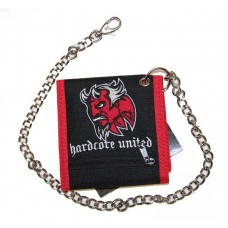 Hardcore United peněženka s řetězem