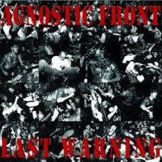 Agnostic Front - Last Warning LP SPLATTER (Lim 600)