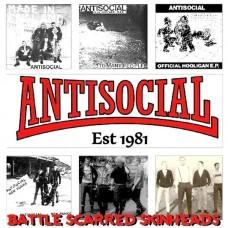 Antisocial – Battle Scarred Skinheads