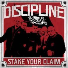 Discipline - Stake your claim LP