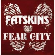 "Fatskins / Fear City - Split 7"" EP (lim 500, 3 clrs)"